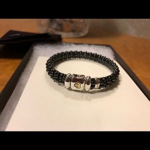 Lagos 9mm Black Caviar bracelet